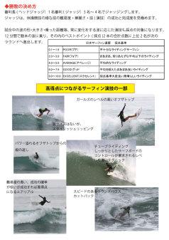 2016サーフィン大会観戦の仕方2